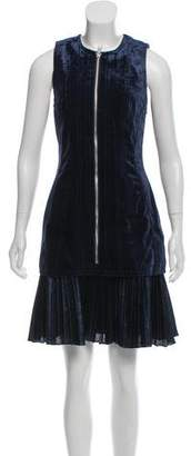 3.1 Phillip Lim Velvet Pleated Dress