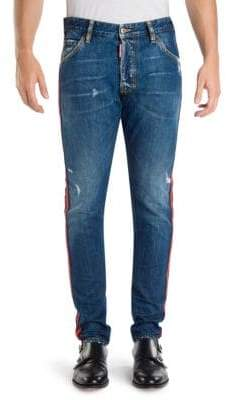 DSQUARED2 Classic Kenny Skinny-Fit Distressed Jeans