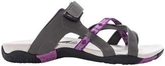 Propet Adjustable Strap Slide Walking Sandals - Eleri
