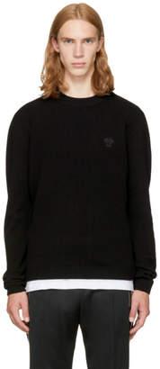 Versace Black Small Medusa Sweater