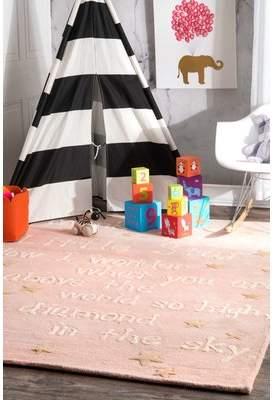 Viv + Rae Paola Trenton Baby Novelty Pink Area Rug