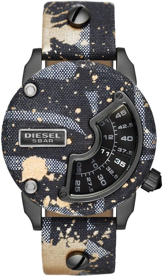 DieselDiesel Men's Mini Daddy Alrite Replica Watch