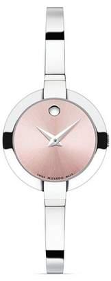 Movado Bela Stainless Steel Watch, 25mm