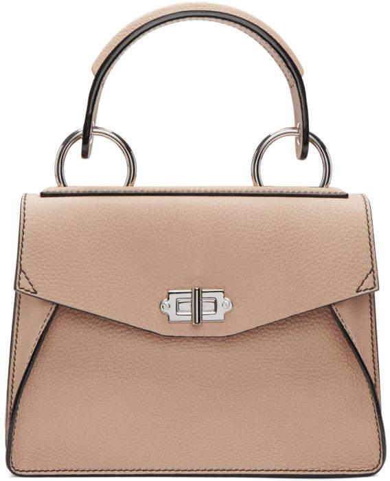 Proenza Schouler Pink Small Hava Top Handle Bag