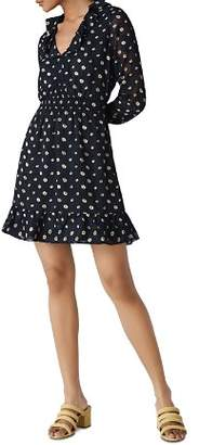 Whistles Aggie Floral Dress