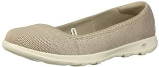 Skechers Women's Go Walk Lite-15400 Wide Ballet Flat