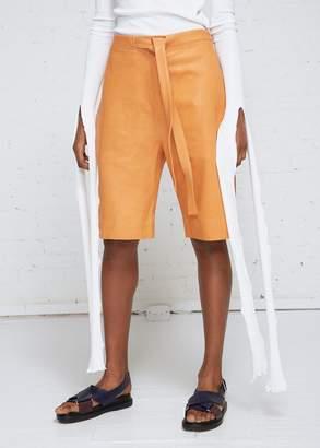 Paper Leather shortsJ.W.Anderson h8Uukb