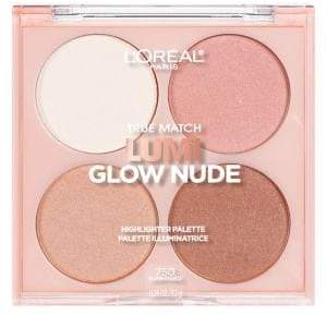 L'Oreal True Match Lumi Glow Nude Highlighter Palette