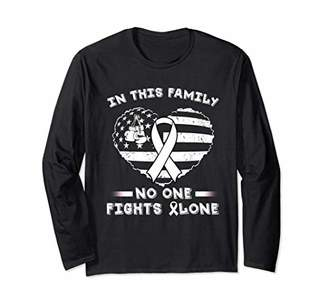No One Fight Alone Hope Lung Cancer Cute Long Sleeve