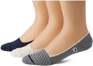 Sperry Men's Skimmers Feed Stripe Liner Socks Three-Pack
