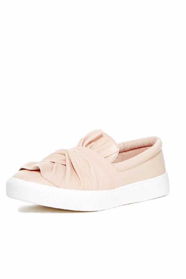 Mia Faux Leather Slip-On