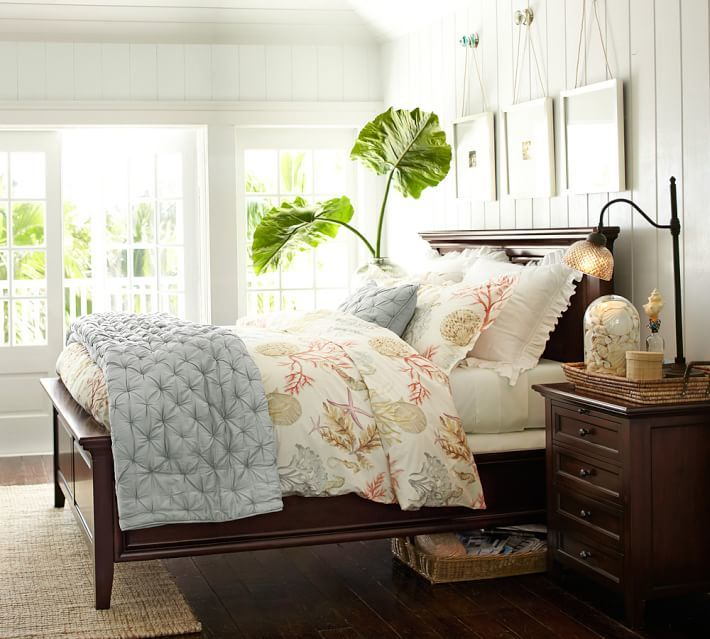 Pottery Barn Rustic Luxe® Bedding - Gray