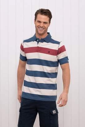 Next Mens Brakeburn Block Stripe Polo Shirt