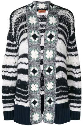 Missoni open front knitted cardigan