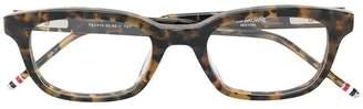Thom Browne Eyewear tortoiseshell square glasses