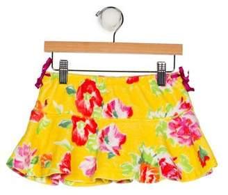 Ralph Lauren Girls' Floral Print Skirt