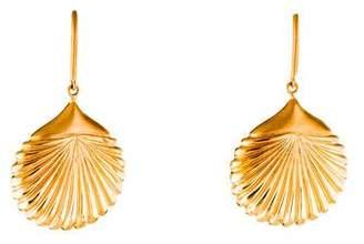 Jamie Wolf 18K Shell Drop Earrings