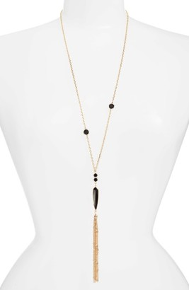 Women's Ettika Tassel Pendant Necklace $50 thestylecure.com