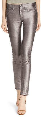 Polo Ralph Lauren Tompkins Metallic Skinny Jean $245 thestylecure.com