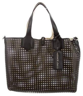 Versace Perforated Tote