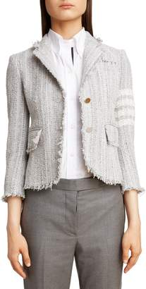 Thom Browne Stripe Tweed Jacket