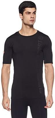Superdry Men's Gym Sport Runner S/S Top T-Shirt,L