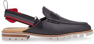 Fendi slingback hybrid loafers