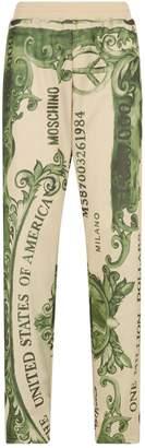 Moschino Dollar-Bill Sweatpants
