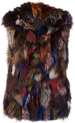 Jocelyn fur gilet $1,095 thestylecure.com