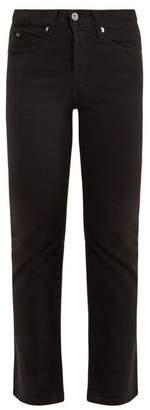 EVE DENIM Jane mid-rise kick-flare jeans