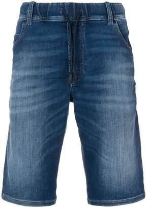 Diesel slim worn-effect shorts
