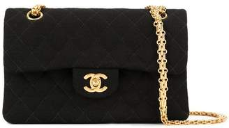 Chanel Pre-Owned CC logos double flap chain shoulder bag
