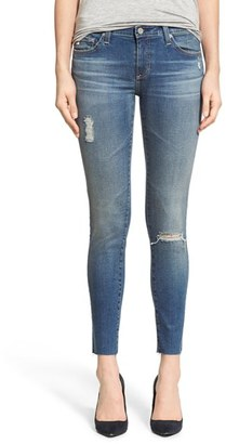 Women's Ag The Legging Ankle Jeans $235 thestylecure.com