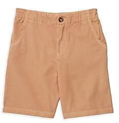Hatley Littl Boy's & Boy's Twill Khaki Shorts