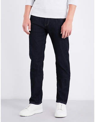 7 For All Mankind The Straight NY Rinse slim-fit straight jeans