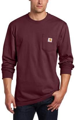 Carhartt Men's Workwear Pocket Long Sleeve T-Shirt Midweight Jersey Original Fit K126