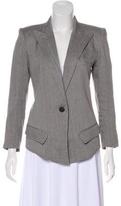 Smythe Structured Peak-Lapel Blazer