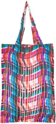 Pleats Please Issey Miyake pleated shopper tote
