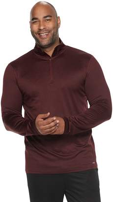 Tek Gear Big & Tall Stretch Jersey Quarter-Zip Pullover