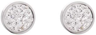 Coeur de Lion Crystals Dew Drop White Stud Earrings 0118/21-1800
