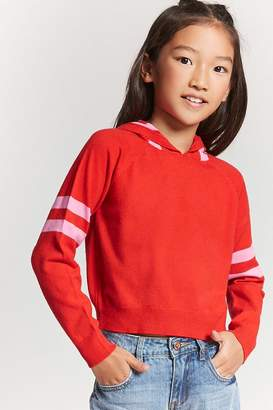 Forever 21 Girls Cropped Sweater (Kids)