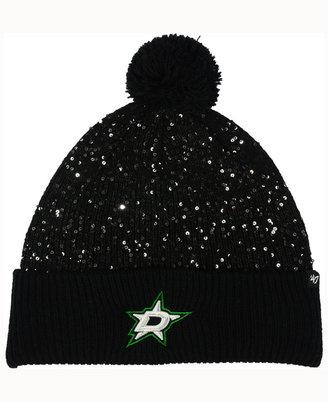 '47 Brand Women's Dallas Stars Glint Knit Hat $27.99 thestylecure.com