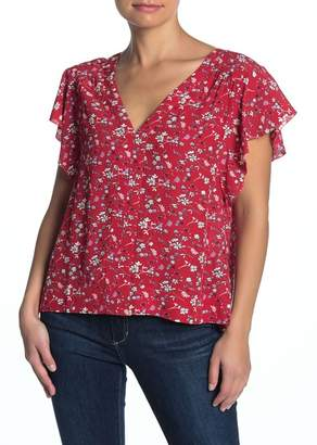Sanctuary Countryside Floral Flowy Top (Regular & Petite)