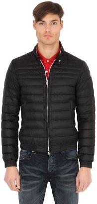 Garin Lightweight Nylon Down Jacket $915 thestylecure.com
