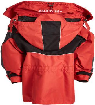 Balenciaga Oversized Jacket with Hood