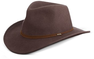 Scala Men's Wool Felt Outback Ear Flap Hat