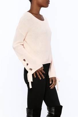 Mono B Blush Sweater $48 thestylecure.com