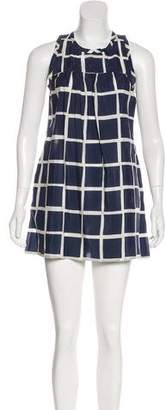 Nili Lotan Sleeveless Knee-Length Dress