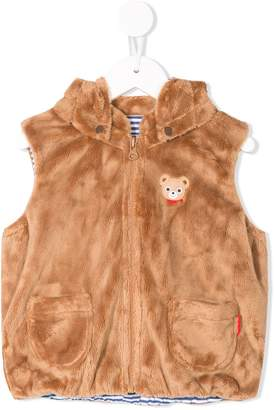 Mikihouse Miki House Teddy hooded vest