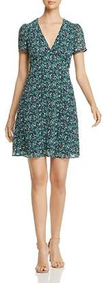 MICHAEL Michael Kors Paisley-Print V-Neck Dress